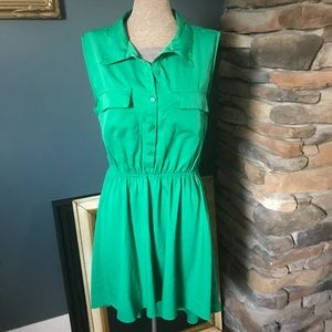 Truth Kelly green dress